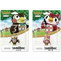 amiibo 2 件裝套裝 [Blathers/Celeste](動物交叉系列)適用于 Nintendo Switch…