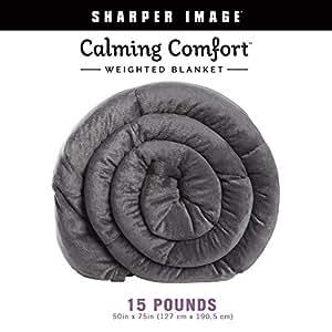 Allstar Innovations 25磅舒适灰色加重毛毯