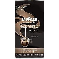 Lavazza Espresso Italiano Ground Coffee, 100% Arabica, 20 Oz Soft Bag, Espresso Italiano, 20 Oz