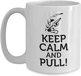 PixiDoodle 粘土 Pigeon 狩猎 咖啡杯 白色 15盎司