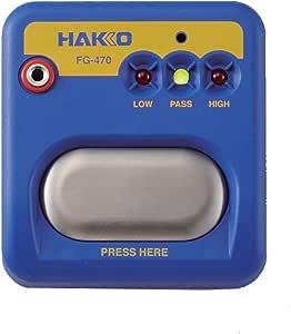 Hakko FG470-02 系统测试仪 ESD 腕带测试仪 香蕉插头 9V