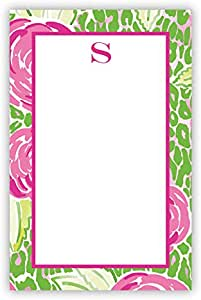 Chatsworth AZNP33-SI-W-A Mia 粉色单首字母记事本 字母 S