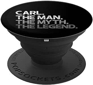Carl Gift:男士神秘传奇 PopSockets 手机和平板电脑握架260027  黑色