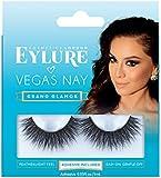 Eylure Vegas Nay 假睫毛 可重复使用 含胶粘剂 1对 无刺激性
