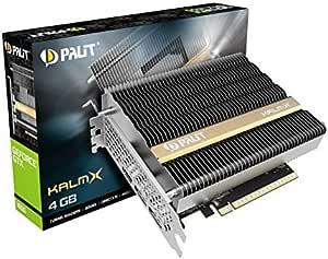 Palit GeForce GTX 1650 KalmX 显卡 4GB GDDR5 被动式 2x DP / HDMI