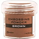 Ranger 浮雕粉 1 盎司罐 棕色 EPJ-36555