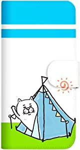 Mitas 智能手机壳 翻盖式 *不好猫 vol.3SC-4103-A/SO-01F 2_Xperia (SO-01F) おはよー A