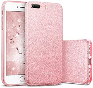 alsatek 保护壳适用于 iPhone 7 Plus,塑料,金色