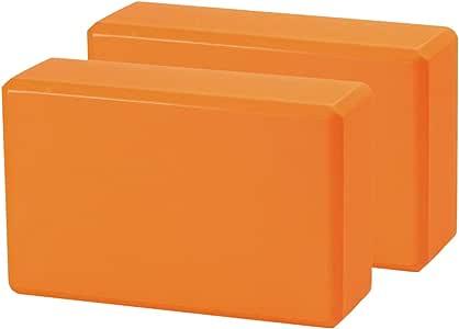 CISMARK 瑜伽砖 – 支持无乳胶 EVA 泡沫柔软防滑表面,适合瑜伽、普拉提、冥想