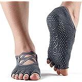ToeSox Grip Pilates Barre 袜 - 防滑 Elle 半趾 适用于瑜伽和芭蕾
