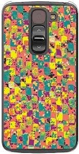 Coverfull 纹理免费 黄色 (透明) / for G2 mini D620J/MVNO智能手机(SIM免费终端) MLGG2M-PCNT-212-M740 MLGG2M-PCNT-212-M740