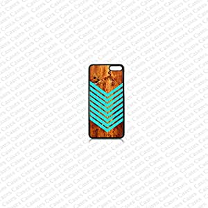 Krezy Case amazon fire phone case -teal stripes on wood (not real wood) fire phone case, amazon fire phone case for cell phone