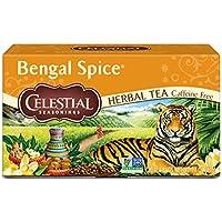 Celestial Seasonings 凉茶,孟加拉香料,20袋(6包),1.7盎司,47克