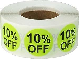 3/4 英寸折扣 Hot Green 10% Off