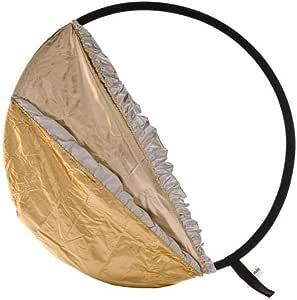 Lastolite by Manfrotto Bottletop 5:1 扩散器 - 121.9 厘米/48 英寸,金色/白色和阳光/银色封面LL LR4896 121.9 cm/48 inch