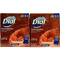 Dial Glycerin 香皂,含强力香皂,4 盎司棒,3 片(2 盒装)