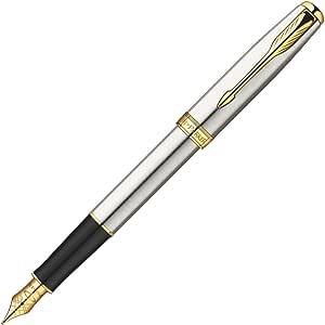 PARKER 派克 卓尔钢杆金夹墨水笔(钢笔)