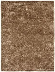 Thedecofactory 地毯 130 x 190 厘米,丝绸浅蓝色,涤纶,淡褐色,190 x 130 x 1.5厘米