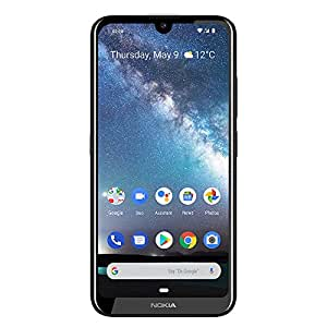 Nokia 2.2 - Android 9.0 Pie - 32 GB - 单个 SIM 解锁智能手机(AT&T/T-Mobile/MetroPCS/Cricket/Mint)- 5.71 英寸高清+ 屏幕 - 美国保修TA-1184S 钢铁灰