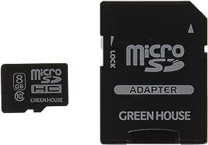免费恢复绿色屋消除数据 附有数据复原服务microSDHC卡 8GB GH-SDMRHC10DA-8G