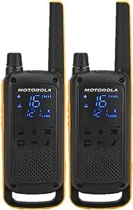 Motorola 摩托罗拉 Talkabout T82 无线对讲机(高达10 千米 范围,500 mW,VOX) 1. Twin Pack