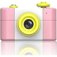 idealTech 男孩女孩儿童相机录像机 No Memory Card 粉红色