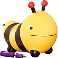 B.Toys 弹跳忙碌大黄蜂 充气弹跳球玩具 不含BPA 柔软 适合 18个月+幼儿