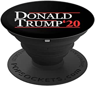 Donald Trump 2020 总统 - PopSockets 手机和平板电脑握架260027  黑色