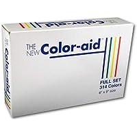 Coloraid 全套 314 色样品 多种颜色 6-x-9-Inch 314 COLORS