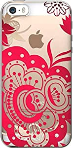 Centon Electronics Cell Phone Case for iPhone 6 - Retail Packaging Paisley Red