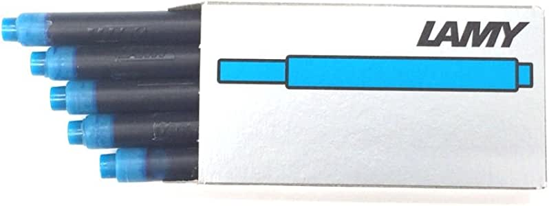LAMY 凌美 一次性墨水胆 绿色 LT10GR 6.8cm×0.7cm 绿松石