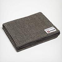 曼都卡(Manduka) 折叠羊毛 毛毯 RECYCLED TWILL WOOL BLANKET Twill【日本正品…
