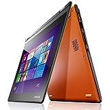 Lenovo 联想 Yoga 2 11.6英寸触控超极本 (四核N3540 4G 500G 内置8G SSD 高清炫彩屏 摄像头 蓝牙 Win8.1)日光橙