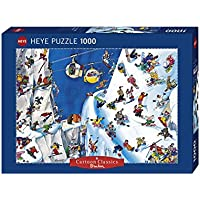 Heye Puzzles - 卡通,1000 片 - 滑雪板,金刚