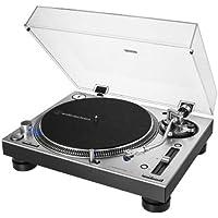 Audio-Technica 铁三角 – AT-LP140XP 专业直驱手动唱盘 – 银色