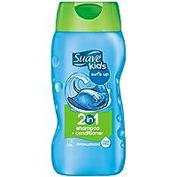 Suave 丝华芙 儿童2合1洗发水&护发素 Surf's Up 12盎司(355ml)(6件装)