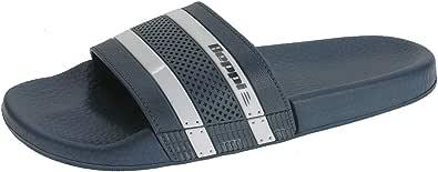 Beppi SS20 男士 68 拖鞋,蓝色
