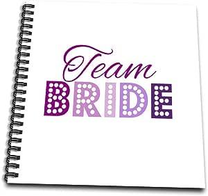 inspirationzstore occasions–TEAM 新娘 IN 粉色和紫色 glitzy GLAM Las Vegas 灯光风格 bachelorette HEN 夜派对–绘本