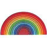GRIMM 彩虹色拱形积木 特大