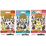 任天堂动物交叉 amiibo 卡片系列 2、3、4 适用于 Nintendo Wii U 和 3DS,1 包(6 张卡片…