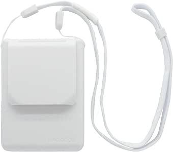 大作商事 MAGICOOL MYFAN MOBILE 可挂在脖子上的个人电风扇 白色 111.5×90×36.6 毫米 连续运行30小时 大风量(两阶段调节) 适用观看体育比赛/通勤上学/室外中暑 MM1WH
