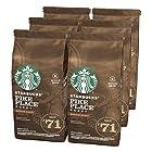 Starbucks 星巴克 Pike Place 中度烘焙研磨咖啡豆/咖啡粉 200g*6袋 ¥221.38