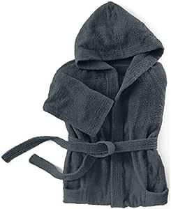 Santens Cocoon 浴袍,棉质,灰色,39 x 29 厘米