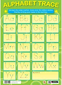 Sumbox 学习海报英语字母跟踪写字墙海报