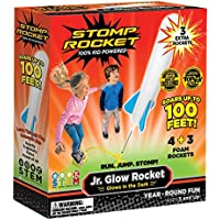 Junior Stomp Rocket Glow 带补充泡沫火箭