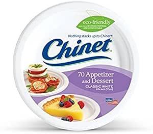 Chinet 甜点盘,70 片(5 包)