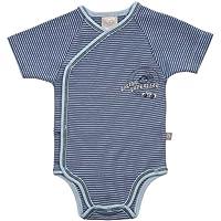 LIEGELIND 19700004414 - 尿布裤,短袖,颜色:天蓝色/牛仔裤