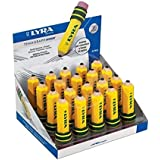 Lyra TEMAGRAPH 黄色 带橡皮擦 - 橡皮擦,(黄色,20 毫米,70 毫米)