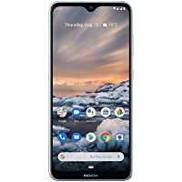 Nokia 诺基亚 Android UK SIM-Free 智能双卡手机 4GB 内存 64GB存储空间 Nokia 7.2 D.Sim 冰色