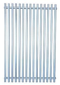 Music City Metals 53S21 不锈钢钢丝烹饪网格替换精选 Weber Gas Grill 型号,17.3125 x 11.8125 英寸
